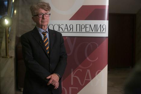 Georges Nivat : « C'est le russe qui m'a choisi ! » Crédit : Anatoli Stepanenko, Prix Russe