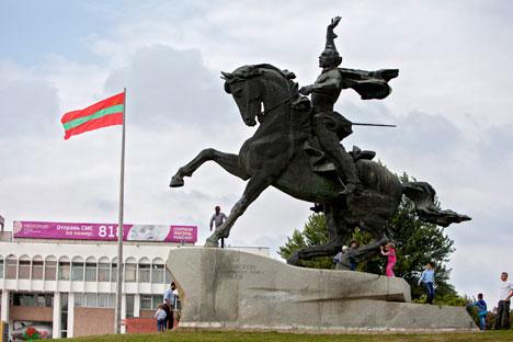 O território da Transnístria fazia parte da Rússia desde o final do século 18 Foto: ITAR-TASS