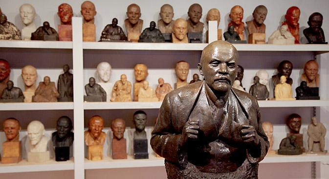 Statue Buste de Lénine par le sculpteur N. Andreev. Crédit : Olessia Kourliaeva/RG