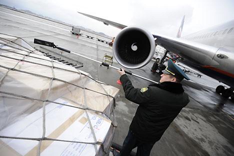 La participation au programme de subvention des trajets à destination de la Crimée constituera l'une des conditions d'affectation des itinéraires internationaux pour les compagnies aériennes. Crédit : Photoshot/Vostock-Photo