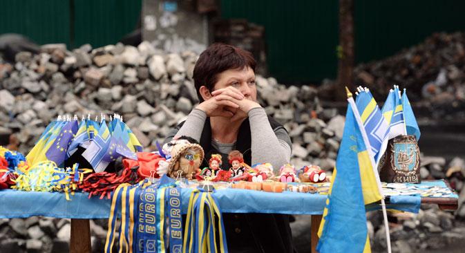 U istočnoj Ukrajini trenutno je situacija potpuno drugačija. Dio države je uvučen u pravi građanski rat.Izvor: Mikhaïl Voskressenski/ RIA Novosti