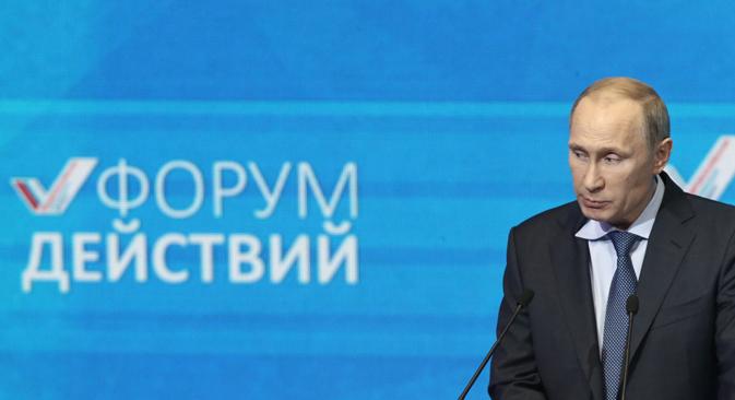 Vladimir Poutine a donné à comprendre que la Russie restait ouverte au dialogue. Crédit : Itar-Tass