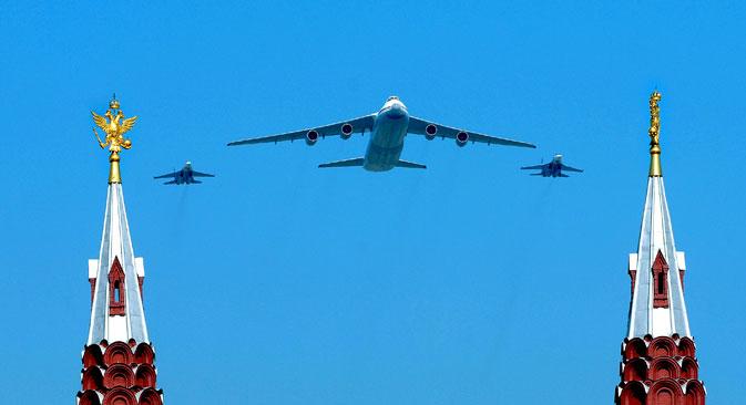 An-124 « Rouslan » Crédit : Itar-Tass