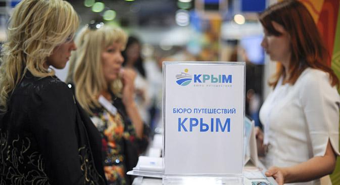 Die russische Regierung will mehr Touristen auf die Halbinsel Krim locken. Foto: ITAR-TASS