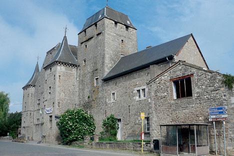L'ancienne brasserie en pierre brute de la petite ville belge d'Anthisnes. Crédit photo : Leonid Sokolnikov