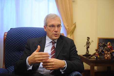 Alexandre Grouchko. Crédit photo : Grigori Sissoev / RIA Novosti