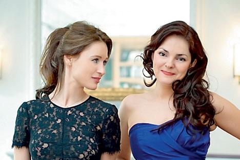 Irina Lankova et Tatiana Samouil. Source : Service de presse