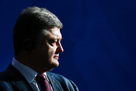 According to Kommersant Poroshenko has set himself a goal of bringing order to Ukraine within three months. Source: Reuters