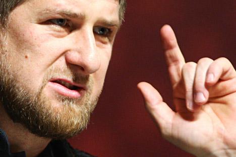 Tschetschenien-Chef Ramsan Kadyrow. Foto: Said Zarnajew/RIA Novosti