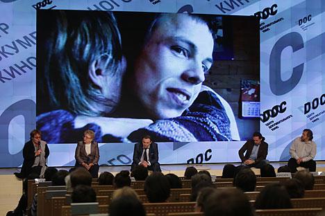 """Der Dokumentarfilm """"Anton's right here"""" sorgte in Russland für Debatten über die Probleme der Autisten. Foto: Walerij Melnikow/RIA Novosti"""