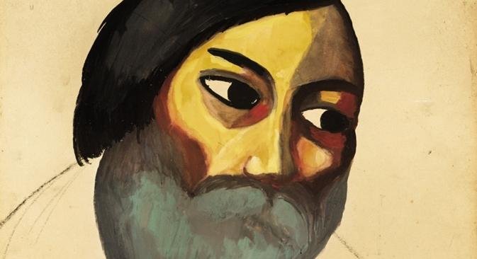 Kazimir Malevitch, La tête d'un paysan. Crédit : Tate Modern