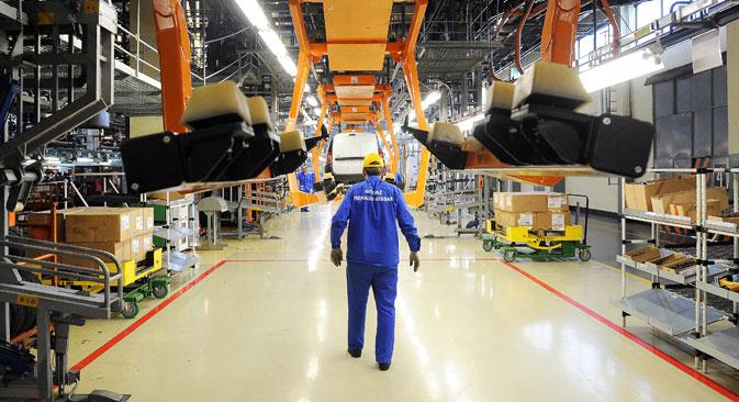 La Russie fait déjà les premiers pas vers l'indépendance technique. Crédit : Itar-Tass