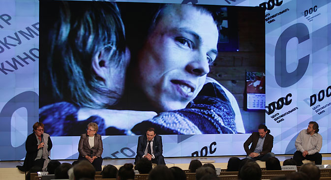 """Le film """"Anton est tout près d'ici"""" montre à travers une histoire la trajectoire de vie de tous les autistes de Russie. Crédit : Valeri Melnikov/RIA Novosti"""