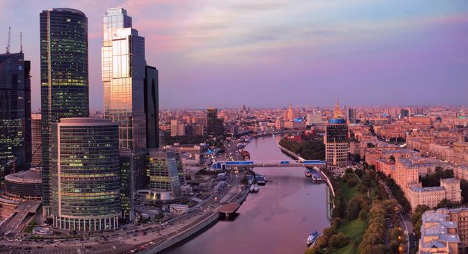 Vous n'aurez aucune difficulté à louer un bureau dans le quartier de Moscou-City. Crédit : Lori/Legion Media