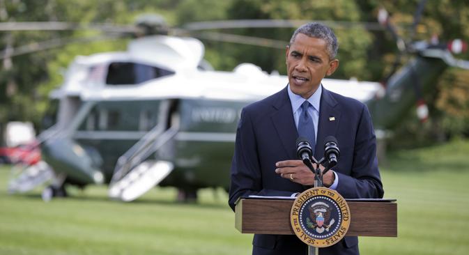 En annonçant l'introduction de nouvelles sanctions, le président américain Barack Obama a expliqué les causes derrière cette décision. Crédit : AP