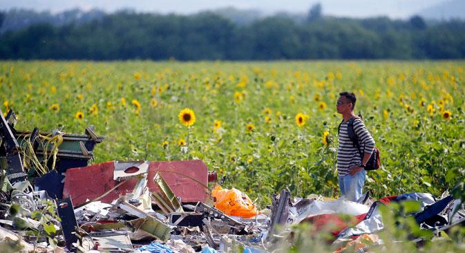 Selon la version des services secrets américains, l'avion a été abattu depuis le territoire contrôlé par les insurgés ukrainiens. Crédit : Reuters