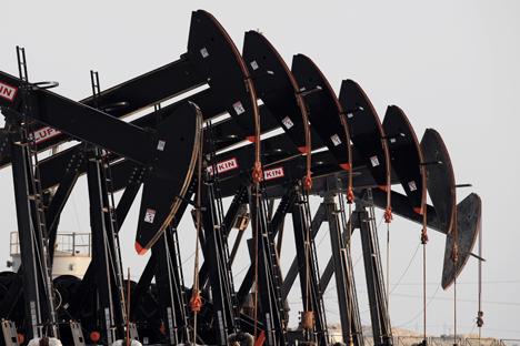 Proibição de importar tecnologias dos EUA e da UE dificultou a extração de petróleo por empresas russas Foto: AP