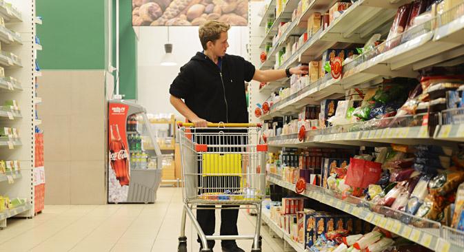 La taxe ne s'appliquera pas aux produits de première nécessité. Crédit : Artem Zhitenev/RIA Novosti