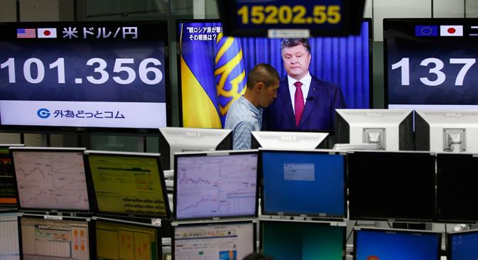 Les pertes financières pour l'Ukraine concernent plus le facteur social que le commerce. Crédit : Reuters