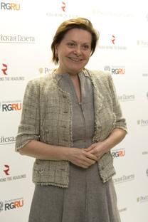 Natalia Komarova, gouverneure du district des Khantys-Mansis - Iougra. Crédit : service de presse