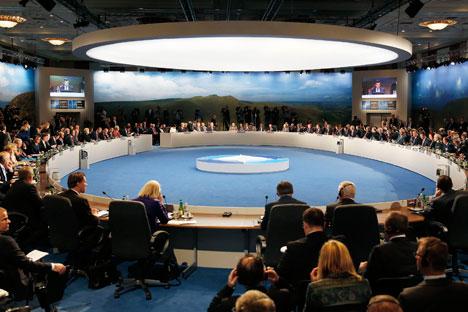 A questão da adesão da Ucrânia à Otan, ao que parece, foi deixada de fora da cúpula no País de Gales Foto: Reuters