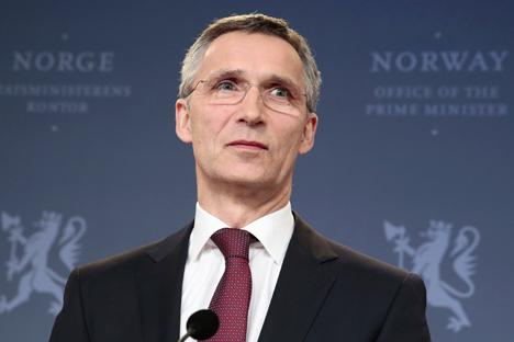 Jens Stoltenberg. Crédit : Reuters