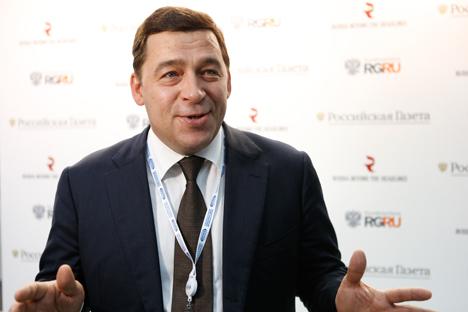 Evgueni Kouïvachev, gouverneur de l'oblast de Sverdlovsk. Crédit : service de presse