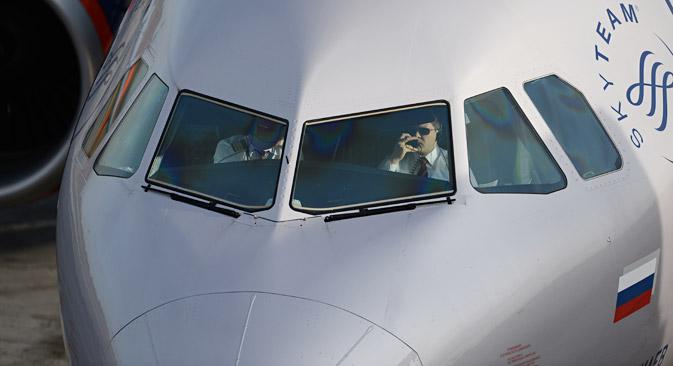 Les experts notent que la Russie ne manque pas de pilotes proprement dit, mais plutôt d'aviateurs expérimentés. Crédit : Alexandre Kryazhev/RIA Novosti