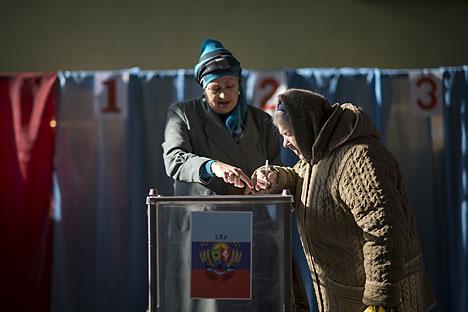 Élections dans le sud-est de l'Ukraine. Crédit photo : Valéry Melnikov/RIA Novosti