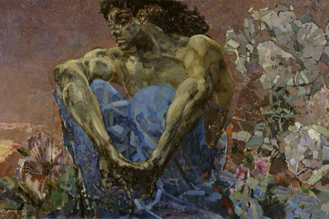 Le Démon par Mikhaïl Vroubel. Crédit : Wikipedia