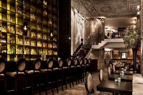 Au printemps 2013, Betony a ouvert ses portes à la place de la Brasserie Pushkin. Source : betony-nyc.com