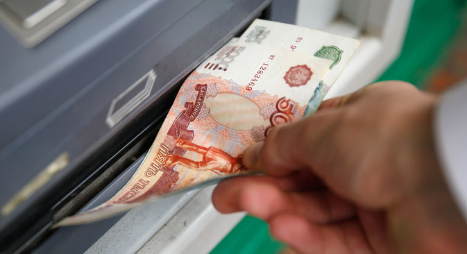 Selon un scénario optimiste, l'économie russe pourrait connaître une hausse de 0,9% en 2015. Crédit : Reuters