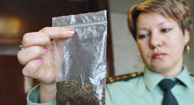 Créée l'année dernière, l'Alliance nationale contre les drogues (NAS) a pour but de réunir les organisations non gouvernementales existantes qui luttent contre le trafic de drogue. Crédit : Itar-Tass