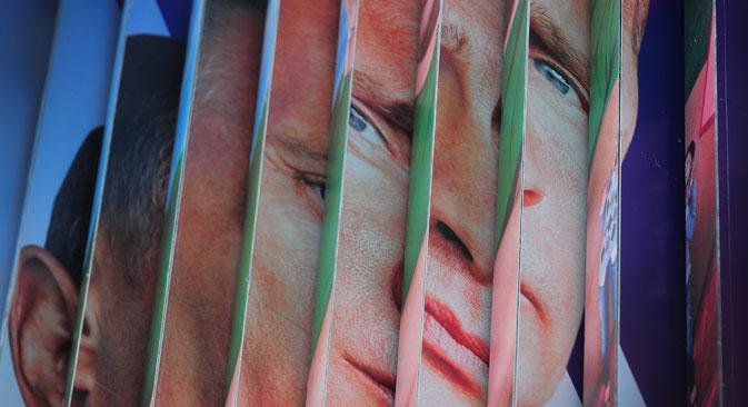 Plus d'un tiers des Russes est convaincu que c'est sous Vladimir Poutine que le pays a connu le plus de démocratie. Crédit : Itar-Tass