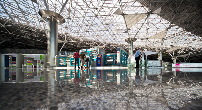 The Russian capital's three airports give travelers the right impression. Vnukovo Airport, Terminal A. Source: Press photo
