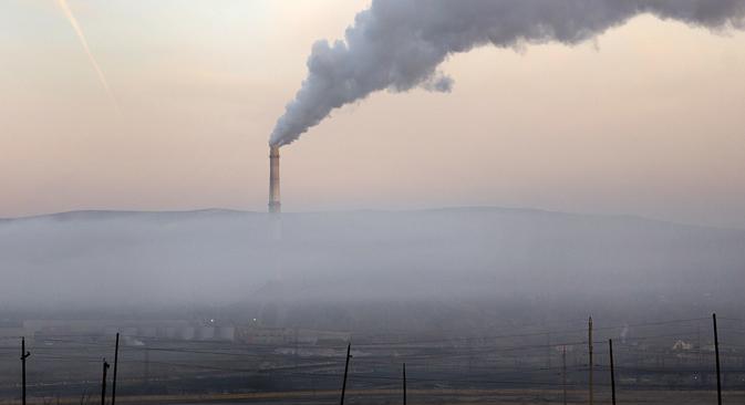 Karabach (région de Tchéliabinsk) est l'une des villes les plus polluées de la planète. Crédit : Sergueï Koliaskine