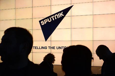 "Mit ""Sputnik"" gibt es ein neues internationales Medienprojekt aus Russland. Foto: Alexej Filippow/RIA Novosti"
