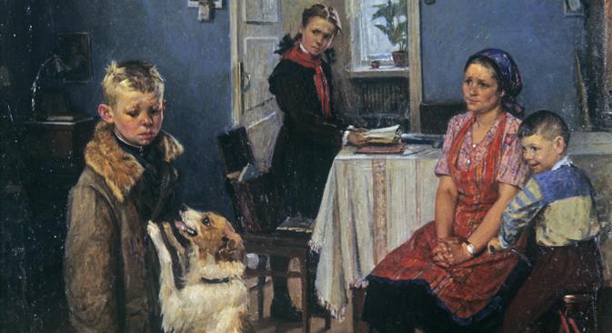 « Encore un 2 » de Fiodor Rechetnikov. Crédit : Balabanov/RIA Novosti