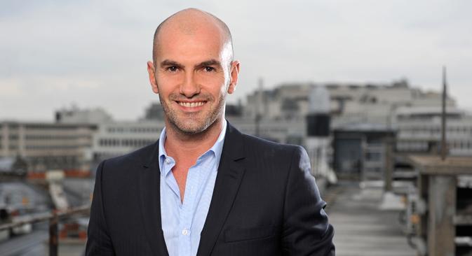 """Thierry Fontaine : """"Le Bolchoï - c'est la référence pour la danse classique"""". Crédit : Pathé live"""