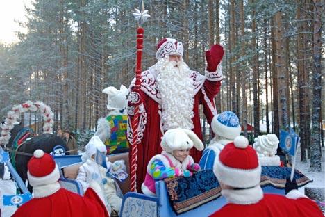 Grand-Père Gel russe. Crédit photo : AFP / Eastnews