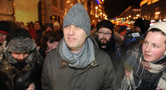 Als Alexej Nawalny zu Protesten kommen wollte, wurde er verhaftet. Foto: Reuters
