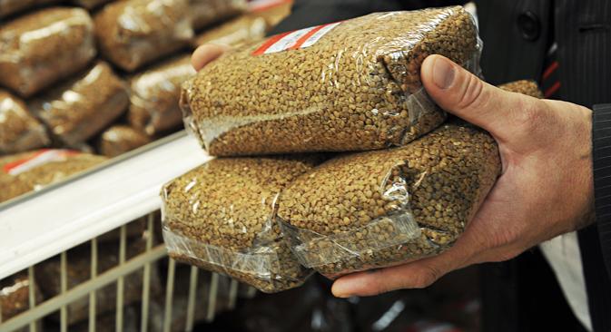 Le sarrasin a été propulsé au rang d'idée nationale et de plat par excellence par les fonctionnaires. Crédit : TASS