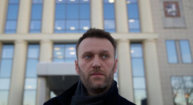 Alexej Nawalny nimmt nicht an der Protestaktion am 1. März teil. Foto: AP