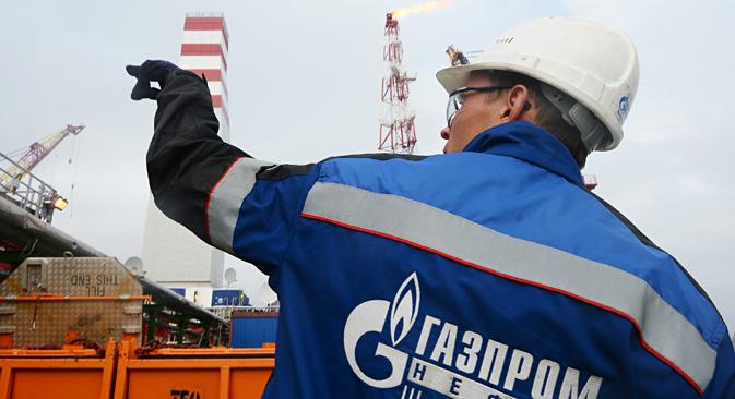 Selon le service de presse de Gazprom, les travaux de prospection et de conception du tronçon maritime turc du nouveau gazoduc devraient débuter prochainement. Crédit : Maxim Blinov/RIA Novosti