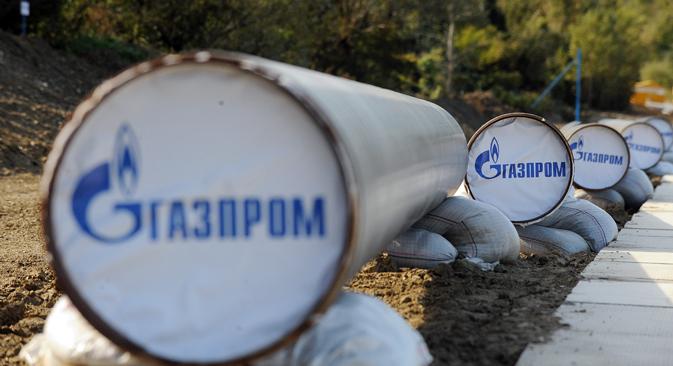 """""""Humanitäre Hilfe auf kommerzieller Basis"""" nennt Gazprom die Lieferungen  in die selbsternannten Volksrepubliken.  Foto: Alexej Filippow/TASS"""