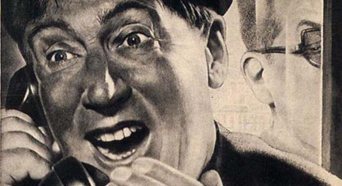 Affiche soviétique par Viktor Koretsky
