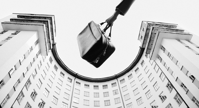 Olga Izakson. La série « Louis Vuitton. Voyage. »