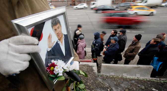 Fall Nemzow: Zweifel an der offiziellen Version wachsen. Foto: Reuters