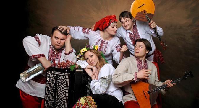 Ensemble folklorique académique Rossiya. Crédit : service de presse