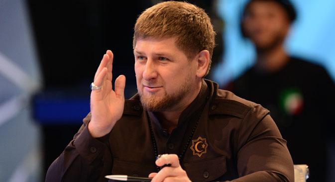 Les avocats de la famille de Boris Nemtsov demandent aux enquêteurs d'interroger plusieurs responsables tchétchènes, notamment le chef de l'administration, Ramzan Kadyrov. Crédit : Said Tsarnaev/RIA Novosti